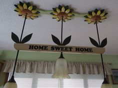 Sunflower Light Fixture Upgrade