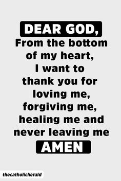 Dear God, from the bottom of my heart, I want to thank you for loving me, forgiving me and healing me and never leaving me. quotes quotes about love quotes for teens quotes god quotes motivation Prayers Of Gratitude, Spiritual Prayers, Bible Prayers, Thankful Prayers, Spiritual Growth, Devotional Quotes, Prayer Quotes, Me Quotes, God Healing Quotes
