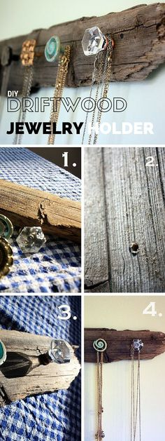 Check out the tutorial: #DIY Driftwood Hanger #crafts #rustic #homedecor