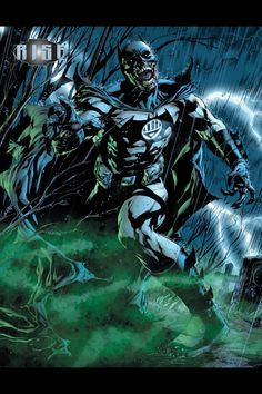 Green Lantern Batman - Blackest Night by Ivan Reis, Joe Prado, & Alex Sinclair