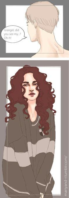#harrypotter #Draco #Malfoy #Hermione #Jean #Granger