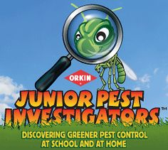 Junior Pest Investigators is an online resource designed to help kids and teachers discover green, environmentally friendly ways to prevent insects, bugs and rodents from entering our spaces and becoming pests.