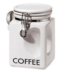 Look at this #zulilyfind! OGGI 'Coffee' EZ Grip Canister by OGGI #zulilyfinds