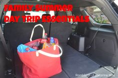 Family Summer Day Trip Essentials #CokeHappyHour #ad - Ramblings of a Marine Wife
