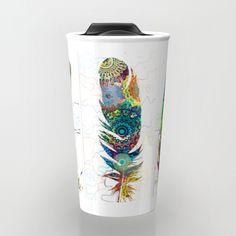 Check out society6curated.com for more! I am a part of the society6 curators program and each purchase through these links will help out myself and other artists. Thanks for looking! @society6 #illustration #drawing #coffee #morning #cup #food #beverage #college #work #office #gift #Idea #buy #shop #shopping #sale #fun #unique #cool #awesome #sweet #coffeemug #buyart #artforsale #feather #feathers #watercolor #mandala #color #colors