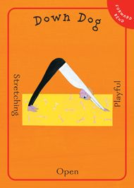 Yoga Pretzels card deck 50 activies for kids and adults.