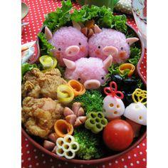 Japanese kid's bento #japanese #food #tommykho