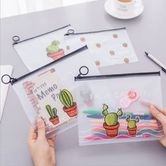 Molang A4 Paper Clear File Folder Office Documents File Cover