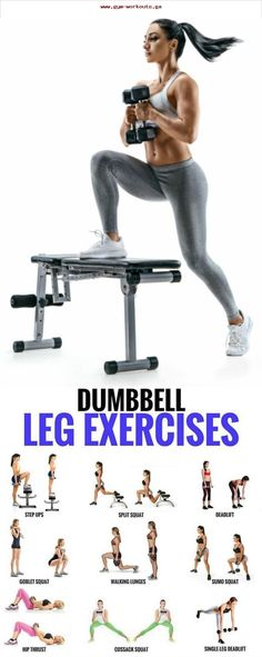 This leg workout focuses on toning and strengthening your legs! Adding resistanc..., #adding #focuses #resistanc #strengthening #toning #workout
