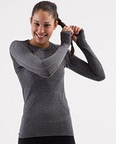 Love these Lululemon tops...I have about 5 different colours...great for running, gym and yoga!