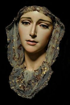 Christian Art: Mother Mary Print 8 x 10 Photo Religious Tattoos, Religious Icons, Religious Art, Blessed Mother Mary, Blessed Virgin Mary, Madonna, Mother Mary Tattoos, Virgin Mary Statue, Our Lady Of Sorrows