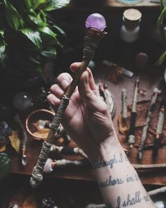 This one is listed as the Wiccans Eye Wand of...