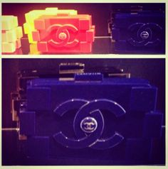 """Lego"" chanel bag! i want all color!! picture: instylemagazine"