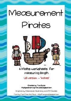 FREEBIE : Measurement Pirates - US Version (inches).