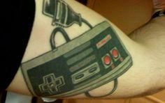 Tattoos: Super Mario e Nintendo | Nerd Da Hora