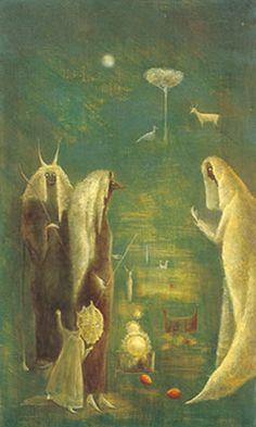 Leonora Carrington, Faet Fiada Fine Art Reproduction Oil Painting
