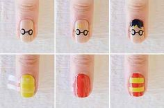 25 Ultra Geeky Nail Art Ideas