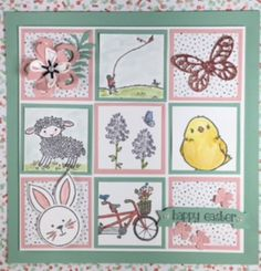 Welcome to Day 4 of Inspiration and my Easter Frame! And it's so cute! You are actually going to be surprised at how easy it is to make! You could easily have this as a decor in your home for...