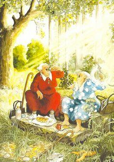 Comics - Inge Look, Secret Garden by 9teen87's Postcards, via Flickr