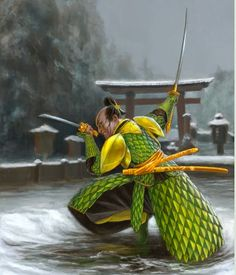 Mirumoto, Dragon Clan Thunder, from Legend of the Five Rings.