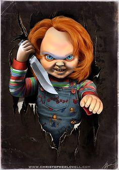 Chucky by Lovell-Art