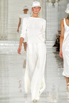 New York Fashion Week: Ralph Lauren spring/summer 2012