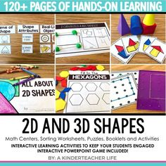 Hands-on Shapes Acti