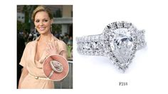 Get Katherine Heigl's engagement ring look with F218 from #MichaelM