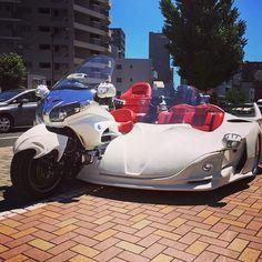 GORDON GL1800 サイドトライク#GORDON #trike #trikemaker #goldwing #gl1800 #goldwing1800 #bike #car #touring #sidecar #sidetrike #supercar #luxury #fashion #instalike #instapic #instacool #instalove #ゴードン #サイドトライク #トライク #バイク #車 #ラグジュアリー #ファッション #ツーリング #ドライブ #ゴールドウイング #サイドカー