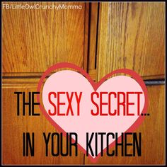 Natural lubricant, found in your kitchen! Never thought of it this way before but definitely switching now!