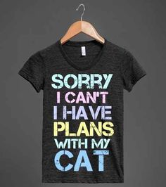 For when you feel obligated to come up with an excuse: | 22 Shirts Every Introvert Should Own