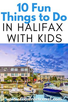 Halifax, Nova Scotia is an awesome place to vacation with your family! They have a lot of family-friendly vacation spots and activities that are fun but also cheap. Most of the activities we did were free! Family Vacation Destinations, Vacation Spots, Travel Destinations, Travel With Kids, Family Travel, London With Kids, Europe Travel Guide, Nova Scotia, Things To Do