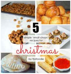 5 Nigerian 'Snack' recipes for Christmas
