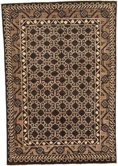 Brown 5' 4 x 7' 8 Khotan Ziegler Oriental Rug | Oriental Rugs | eSaleRugs