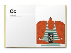 'alphabetics' | book for kids | little gestalten by Dawid Ryski, via Behance