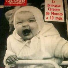 princess caroline at 10 months