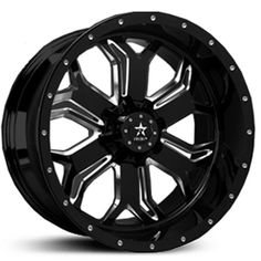 2015 RBP Blade Truck Wheels - Black and Machined