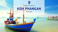 9 Things to do on Koh Phangan (except the Full Moon party) via @misstouristcom