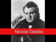 A video of Nicolai Gedda singing 'Kuda kuda vy udalilis'.