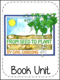 NEW DOWNLOADS: 2 complete book units: Helping Out & From Seed to Plant (Includes vocabulary, spelling and daily language and dictionary skills!) Download Club members can download @ http://www.christianhomeschoolhub.com/pt/Book-Units-for-Primary-Grades/wiki.htm Full previews available #homeschool #homeschooling #reading #teach #bookunits