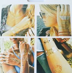 Temporary Fashion and Shimmer Tattoos #USA
