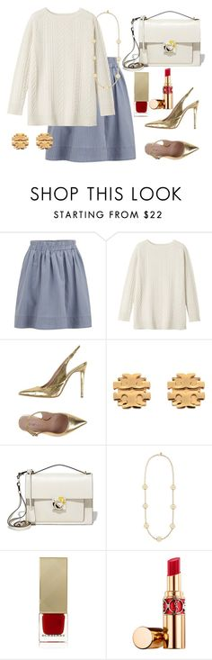 """""""Untitled #645"""" by poshandy ❤ liked on Polyvore featuring Marc by Marc Jacobs, Toast, Tipe e Tacchi, Tory Burch, Salvatore Ferragamo, Burberry, Yves Saint Laurent, women's clothing, women and female"""
