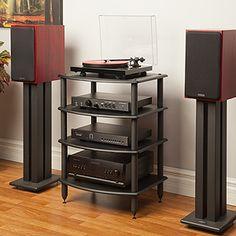 Pangea Audio RV400 Four Shelf Audio Rack