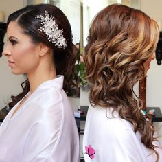#Throwback to mesmerizing curls and beautiful #bridalbling on our stunning bride Robina ✨ #curlsfordays #bridalbeauty #makeupandhair by Kay and Jazmin of #kayanabeauty #kayanabeautytrends