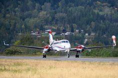 Beechcraft King Air 350.