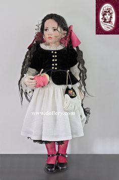 Hildegard Gunzel Snow White doll.  Wax over porcelain