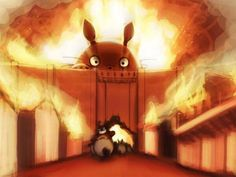 Attack on Totoro xD