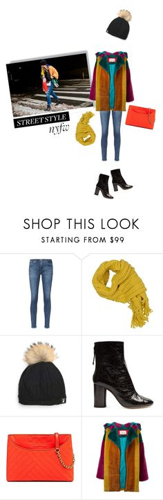 """Untitled #824"" by krahmmm ❤ liked on Polyvore featuring AG Adriano Goldschmied, Pinko, Tallis, Isabel Marant, Tory Burch and JC de Castelbajac"
