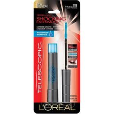 L'Oreal Paris Telescopic Shocking Extensions Waterproof Mascara, Blackest Black, 0.24 Fluid Ounce (Pack of 5) -- Be sure to check out this awesome product.