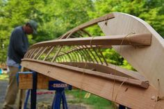 Building your own boat can be cheaper than buying a manufactured boat. A boat that you have made yourself can b Kayak Boats, Canoe And Kayak, Canoe Trip, Fishing Boats, Plywood Boat, Wood Boats, Viking Yachts, Wooden Kayak, Wooden Boat Plans